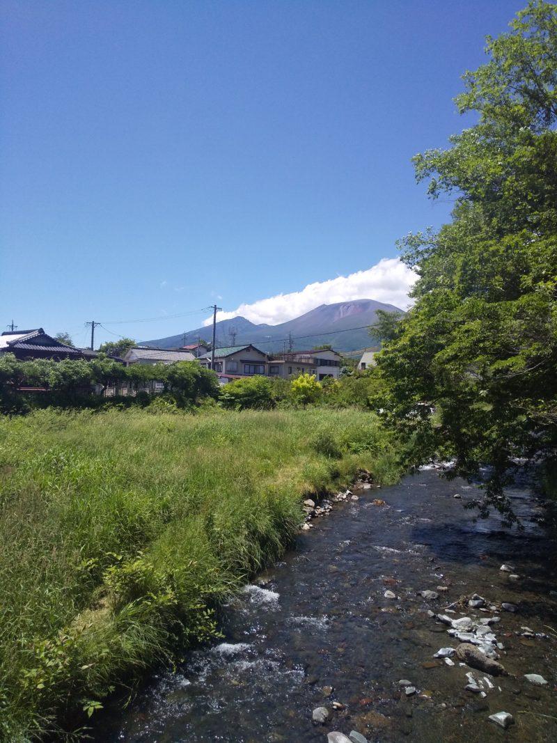 6月の軽井沢(永倉神社前)