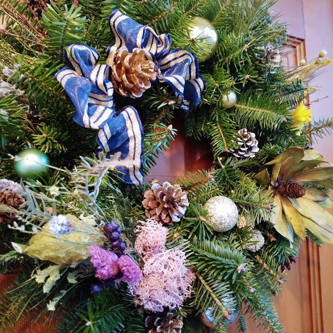 軽井沢暮らしで始めたクリスマスリース作り