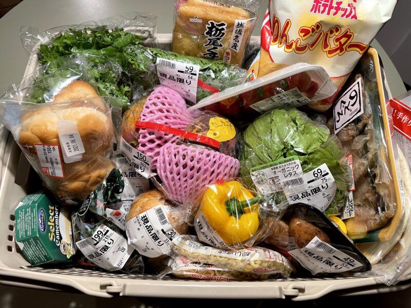 軽井沢のツルヤで購入した商品